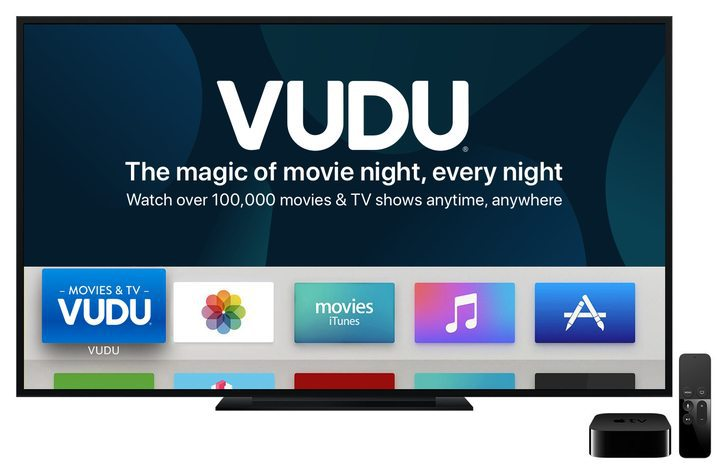Vudu app now available on Apple TV – Dottmedia Group Limited